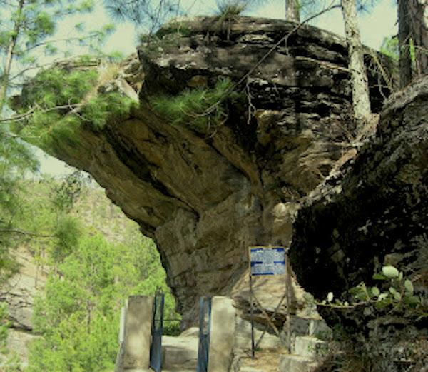 Lakhyu Udyar rock shelter, Almora
