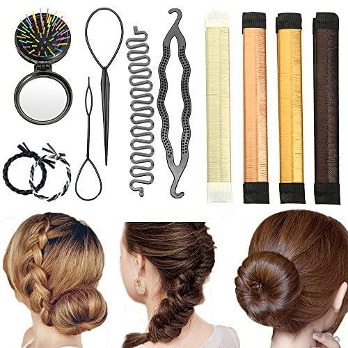 Accessori Per Capelli, Vibury set di acconciature Chignon Hair Styling...