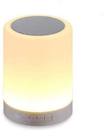 Kepeak Bluetooth Speaker Lamp, Smart Touch Control Dimmerabile Lampada a...