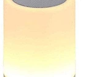 Kepeak Bluetooth Speaker Lamp, Smart Touch Control Dimmerabile Lampada a…