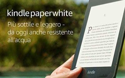 Kindle Paperwhite, resistente all'acqua, schermo ad alta risoluzione da 6″,…
