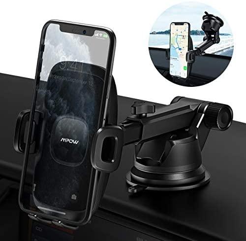 Mpow Porta Cellulare da Auto, Supporto Auto Smartphone con Ventosa per...