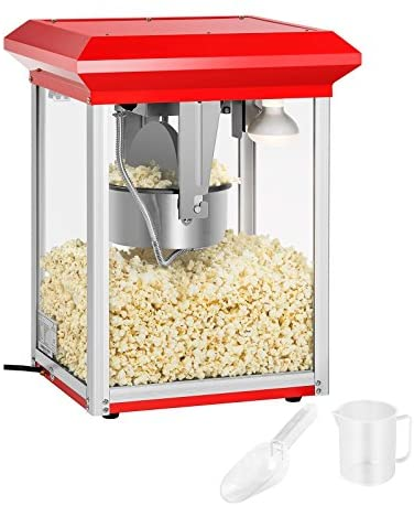 Royal Catering RCPR-1325 Macchina per Popcorn Professionale Popcorn Maker...