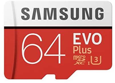 Samsung Memorie MB-Mc64Ga Evo Plus Scheda Microsdxc da 64 Gb, Uhs-I U3...