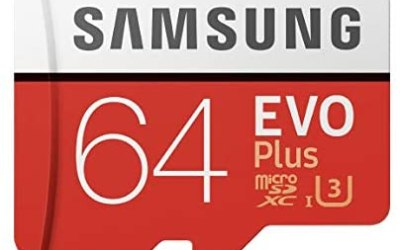 Samsung Memorie MB-Mc64Ga Evo Plus Scheda Microsdxc da 64 Gb, Uhs-I U3…