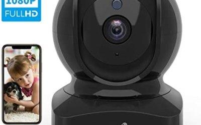 Videocamera WiFi, Wansview FHD 1080P Telecamera di Sorveglianza WiFi con…