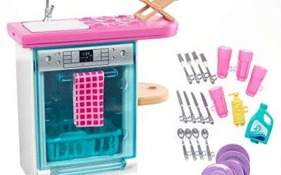 Barbie Set di Arredamenti da Interno, con Lavastoviglie, Sportello…