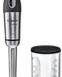 Bosch MSM87110 Mixer a Immersione, 750 W, 0.8 Litri, 1 Decibel, Acciaio…