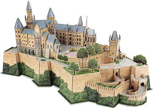 CubicFun Puzzle 3D Germany Castle of Hohenzollern Architectures Kit Modello...