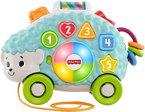 Fisher-Price - Parlamici Baby Riccio Forme e Colori Giocattolo Educativo...