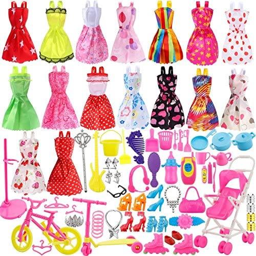 Harxin 116 Pezzi Accessori per Bambole, Accessori per Bambole, 16 Pezzi...
