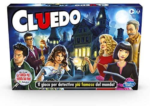 Hasbro Gaming Cluedo (Gioco in Scatola,, Versione 2020 in Italiano)
