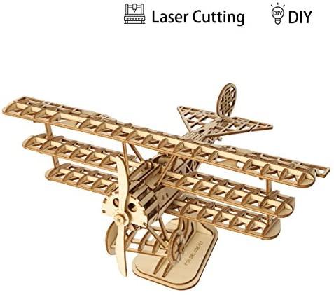 Rolife Woodcraft Kit di Costruzione Modello 3D in Legno Costruzione Kit...