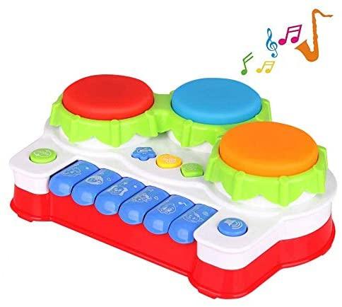 TINOTEEN Giocattoli per Bambino Gioco Giocattolo Musicale per Pianoforte e...