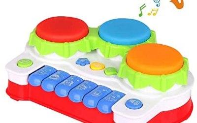 TINOTEEN Giocattoli per Bambino Gioco Giocattolo Musicale per Pianoforte e…
