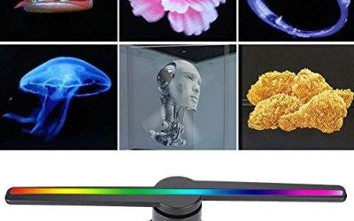 VBESTLIFE HD 3D 320 Lampada Perline 43CM pubblicità Proiettore, 768 * 768…