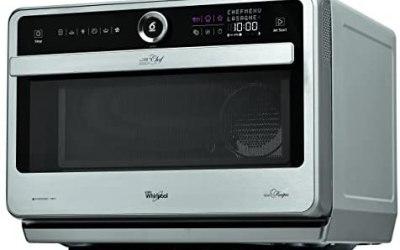 Whirlpool Microonde JT 479 IX Chef Premium termoventilato combinato, 33…