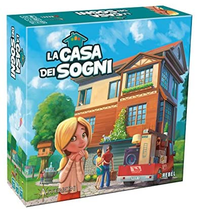 Asmodee 8155 - La Casa dei Sogni Edizione Italiana