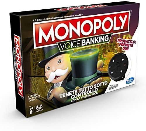Hasbro Monopoly - Voice Banking (Gioco in Scatola Elettronico)