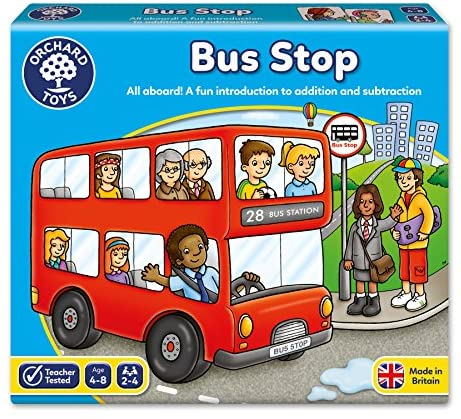 Orchard Toys - Fermata dell'autobus (Bus Stop), Gioco da Tavolo educativo...