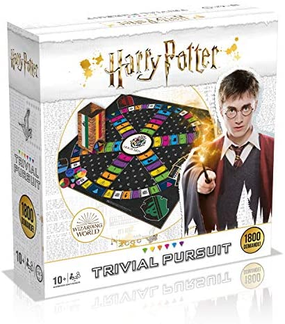 Winning Moves Harry Potter Trivial Pursuit Ultimate Edition-Gioco da...