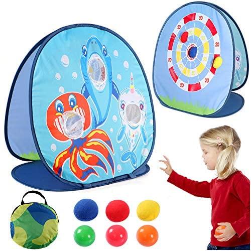 vamei Beanbag Toss Gioco Gioco di tiro per Bambini Schark Toys Carnival...