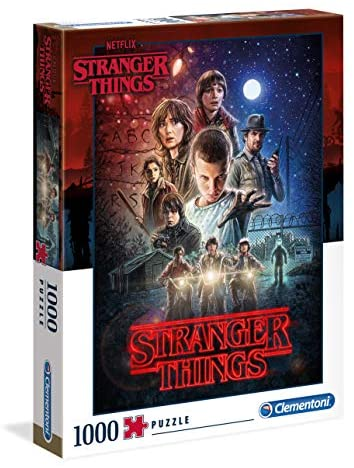 Clementoni - 39542 - Puzzle Stranger Things - 1000 Pezzi - Made In Italy -...