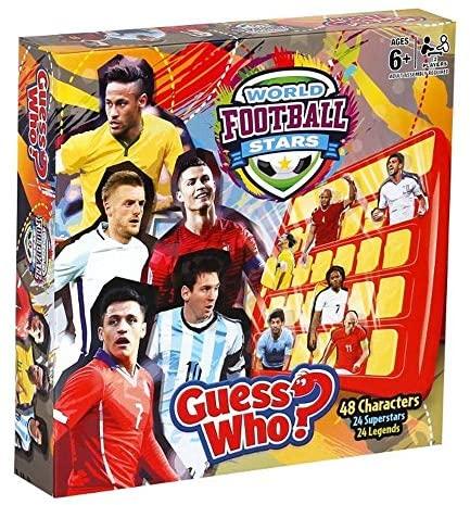 GUESS WHO 28424 Indovina Chi - Stelle del Calcio