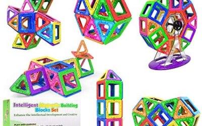 Desire Deluxe 94 Pezzi Costruzioni Magnetiche per Bambini Gioco Educativo e…