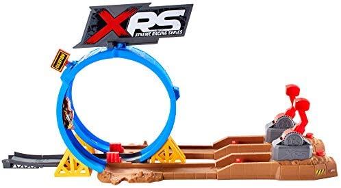 Disney Cars- Pista Super Scontri XRS Mud Racing Playset per Macchinine con...