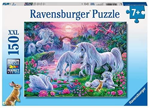 Ravensburger Unicorni Puzzle per Bambini, Multicolore, 150 Pezzi, 10021