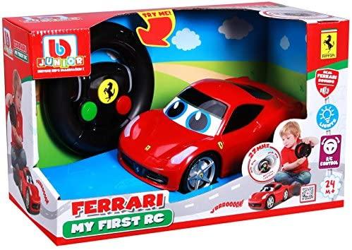 Bburago Junior 16–91003Ferrari My First R/C–458Italia Veicolo...