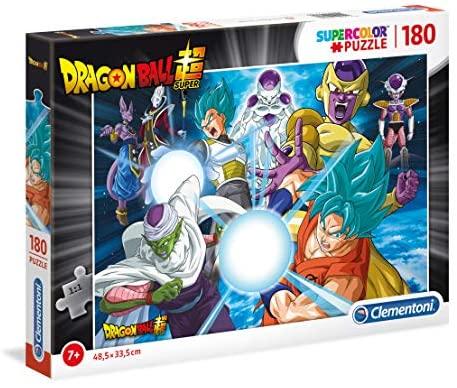 Clementoni - 29762 - Supercolor Puzzle - Dragon Ball - 180 Pezzi - Made In...