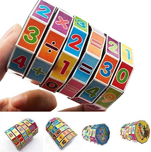 Cokil Puzzle matematico cubo Gioco aritmetico per Bambini Cubo Giocattolo...