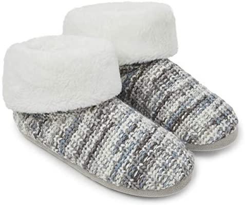 Dunlop Pantofole Donna Invernali | Pantofola a Stivaletto Donna Inverno |...