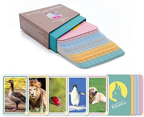 Le mie prime parole - animali: Il gioco educativo da 1 anno di Kakaduu. 50...