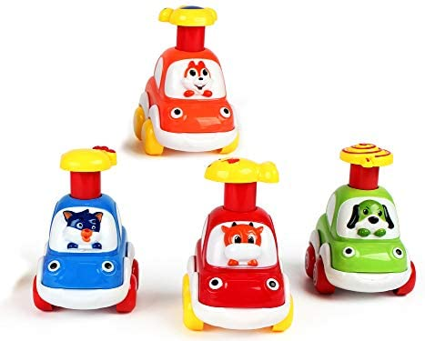 Press And Go Car Educazione precoce Baby Toy Push And Go Cars Giocattoli...