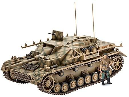 """Revell- SD.Kfz. 167"""" StuG IV Modello Kit Carro Armato, Multicolore, 3255"""