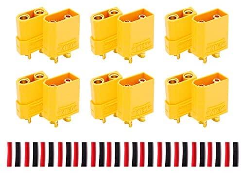woafly LHI Connettori per batteria XT90 da per connettori 6pcs maschio e...