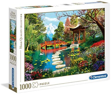 Clementoni - 39513 - High Quality Collection Puzzle - Fuji Garden - 1000...