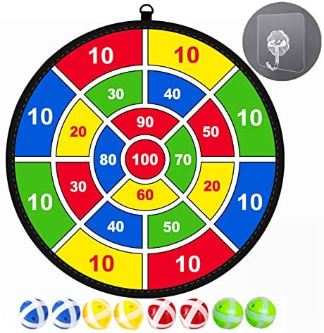 Gioco per bambini Lbsel Freccette con 8 palline Giochi da tavolo per...