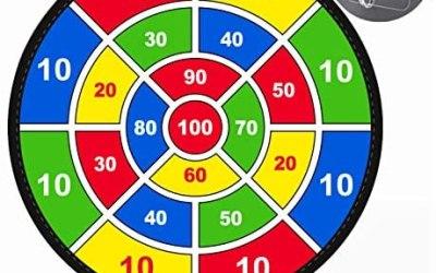 Gioco per bambini Lbsel Freccette con 8 palline Giochi da tavolo per…