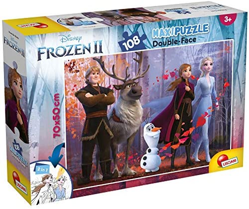 Lisciani Giochi Disney Puzzle DF Supermaxi 108 Frozen 2, 73399