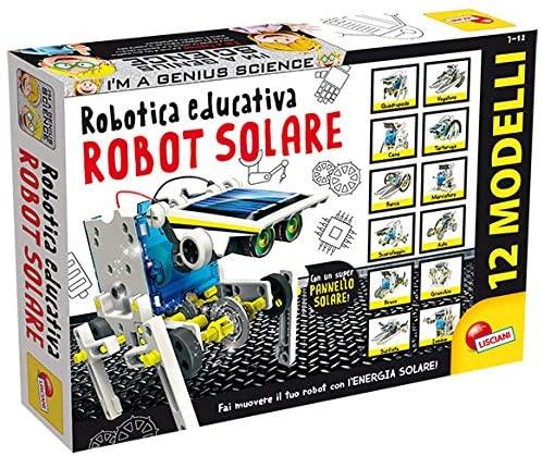 Lisciani Giochi- Scienza Hi Tech Robot 14 Modelli Energia Solare,...