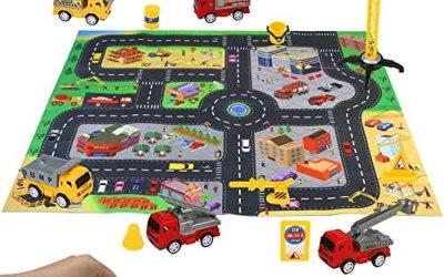 Macchinine Giocattolo Costruzioni per Bambini 6 Pezzi Camion Cars…