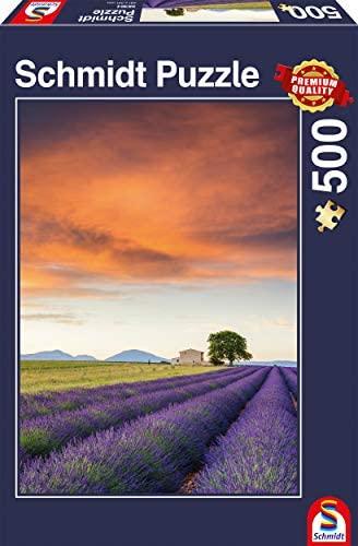 Schmidt Spiele- Provence, Puzzle da 500 Pezzi, Multicolore, 58364