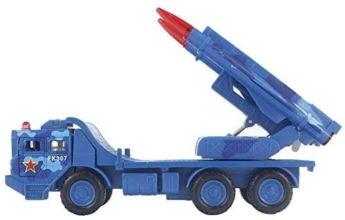 1:55 Simulazione Modello Lanciamissili Tirare Veicoli da Guerra Militari di...