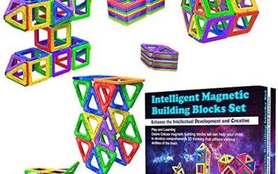 Desire Deluxe Costruzioni per Bambini Set Tessere magnetiche – Giochi…