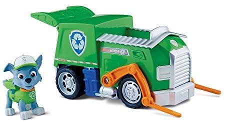 Nickelodeon, Paw Patrol - Personaggio con veicolo - Rocky e il suo camion...