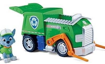 Nickelodeon, Paw Patrol – Personaggio con veicolo – Rocky e il suo camion…